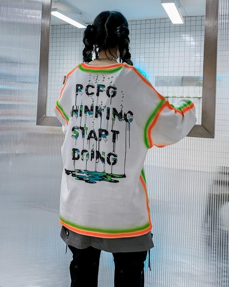 PCFGペインティングロングTシャツの画像2